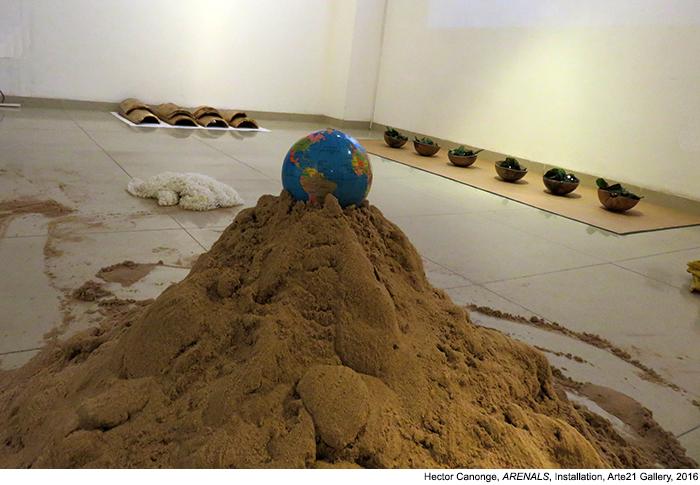 Hector Canonge Arenals Exhibition Arte21 Santa Cruz Bolivia