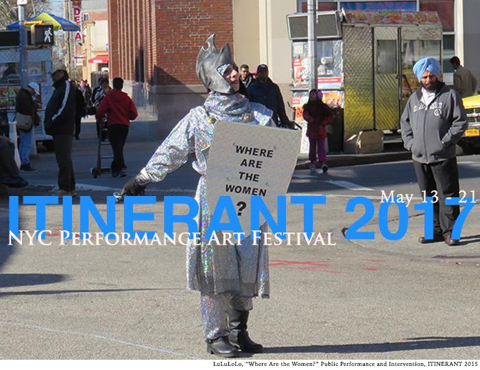 Hector Canonge, Lulu Lolo, ITINERANT, Performance Art