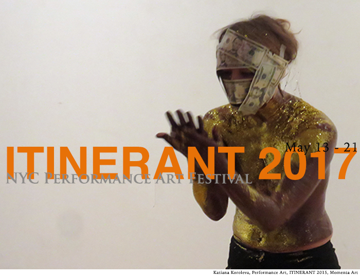 Hector Canonge, Agnes Yit, ITINERANT, Performance Art Festival